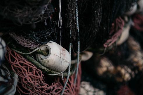 Fishing Net Closeup