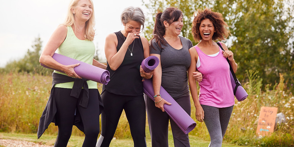 Laughter Yoga in the Gardens