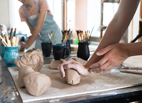Töpferworkshop für Kinder ab 11 Jahren  | 17.08.21