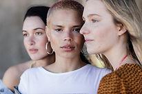 Multi ragazze etniche