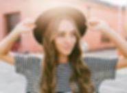 帽子の少女