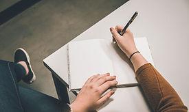 Pisanie na zeszycie