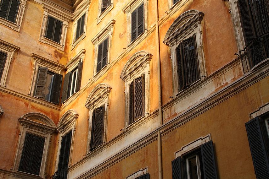 Oude Windows-gebouwen