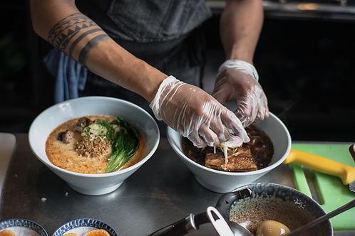 Preparing a Dish