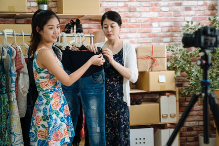 Inventario de la tienda de ropa