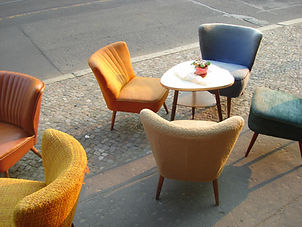 Outdoor Chairs and Table