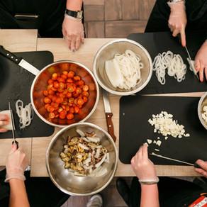 Réaliser un plat cuisiné à distance