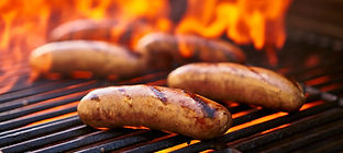 Pork-Sausages-on-the-Grill