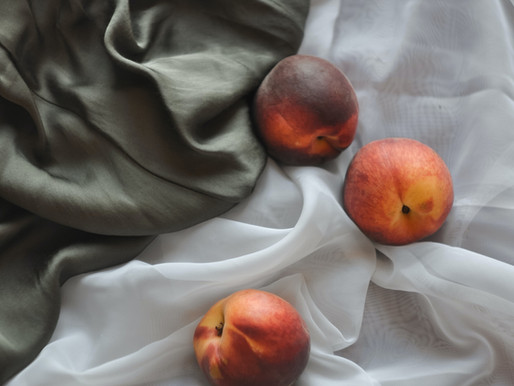 Peach Oatmeal Shake
