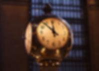 Horloge dans la gare