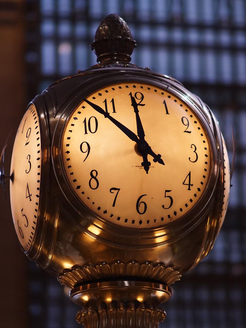 Klokke i stasjon