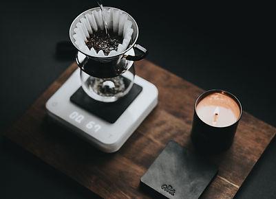 stand de café