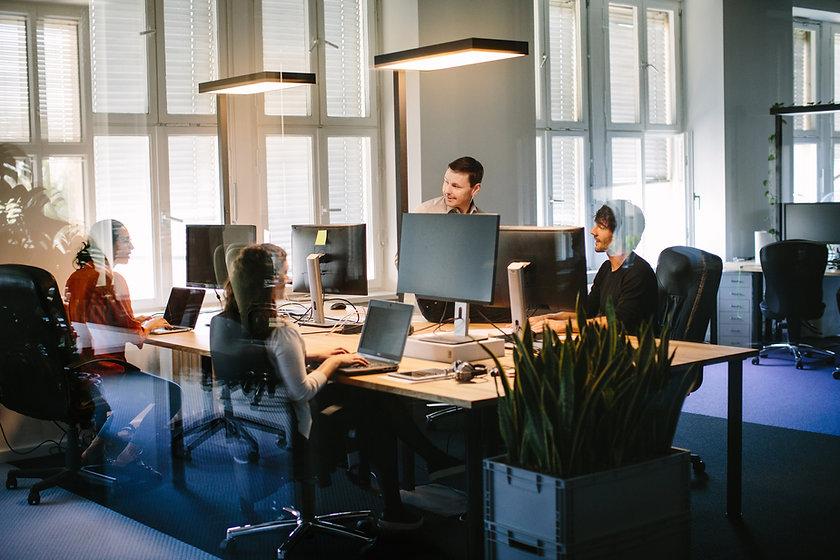 Open Space-Büro