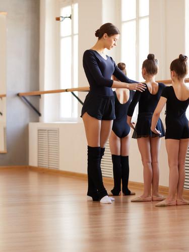 Clase de ballet - Raquel Hinojosa