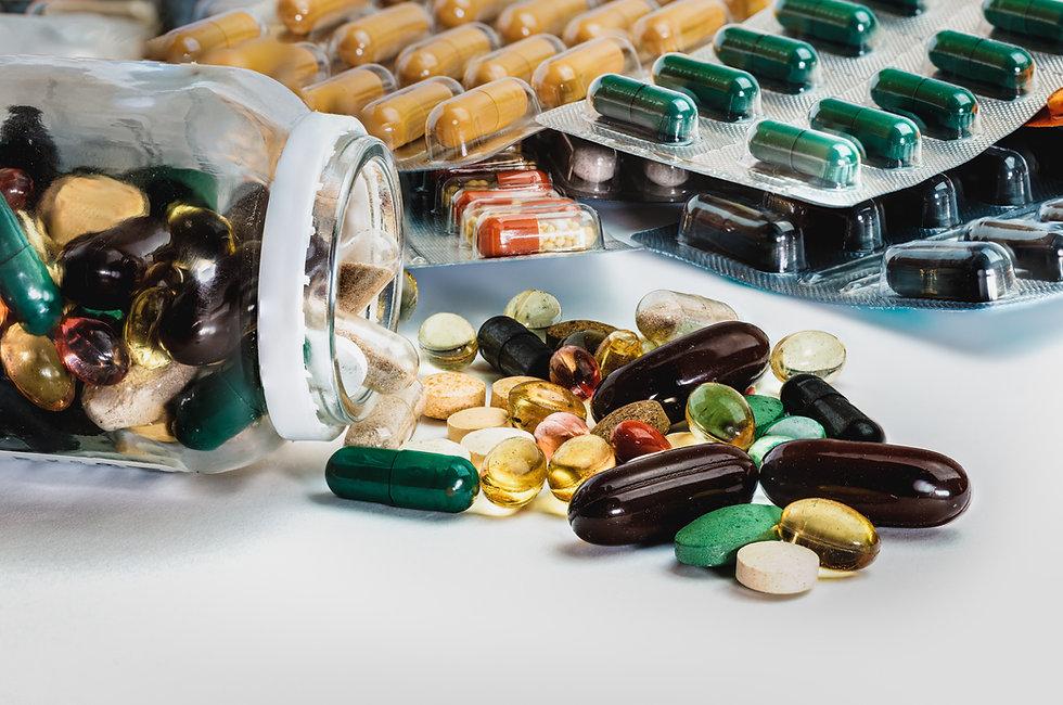 Assortment of Pills