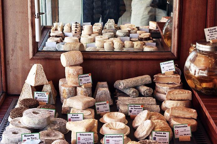 Sélection de fromages français