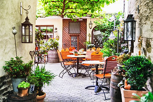 Outdoor Cafe in Europe