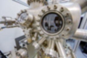Máquinas em um laboratório de física
