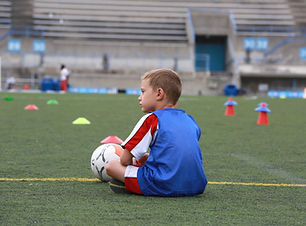 Ung fodboldspiller