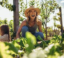 Happy Female Gardener