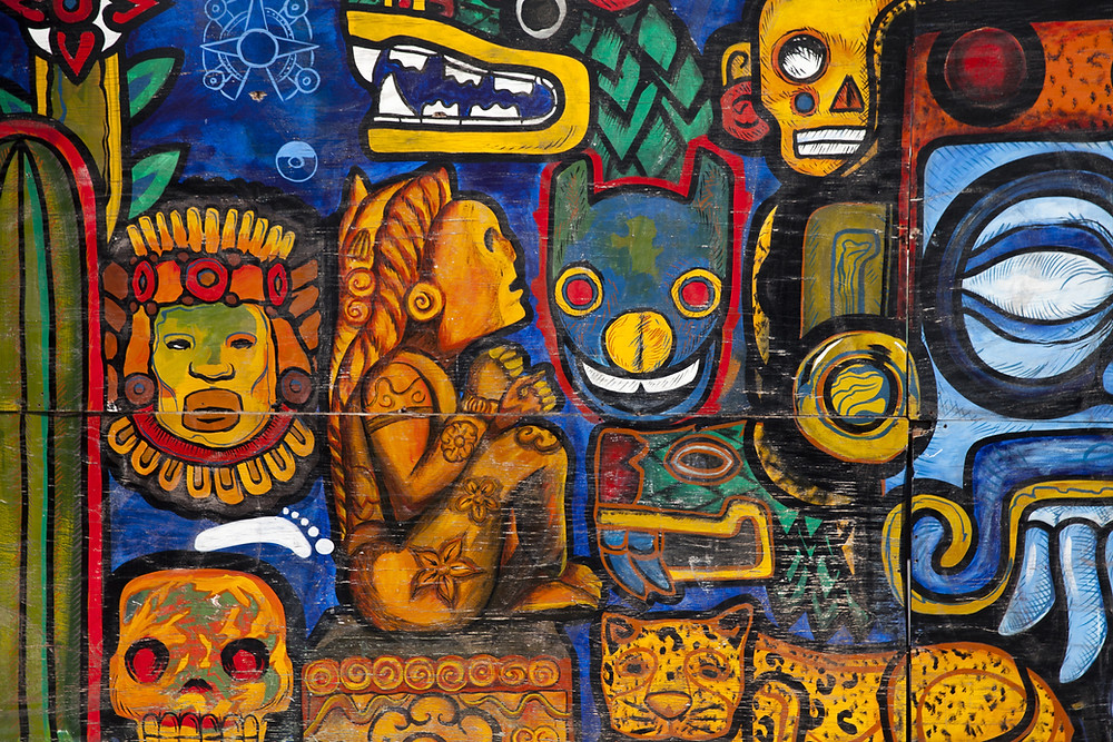 aztec graffiti