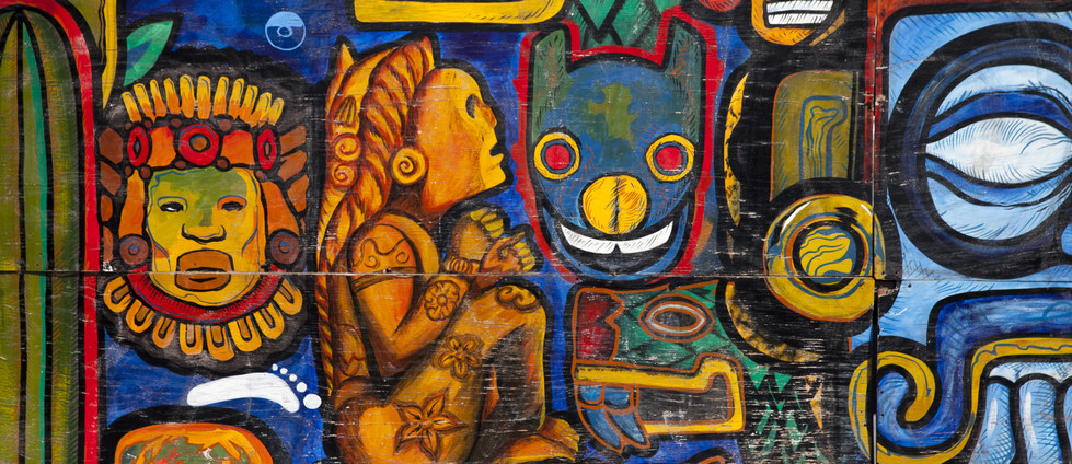 Grafiti colorido