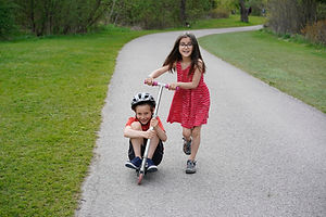 Kids in Park