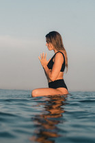 Meditating in Water