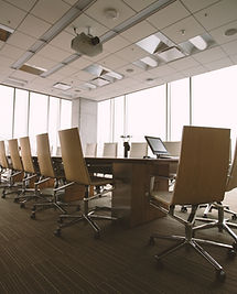 Moderner Konferenzraum