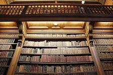 Biblioteca à moda antiga