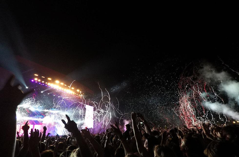 Concert With Confetti