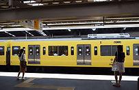 Žlutý vlak metra