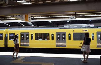 Yellow Subway Train