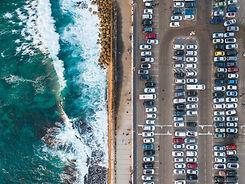 ビーチ駐車場