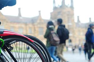 Bike at University Campus
