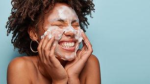 Gesichtswäsche