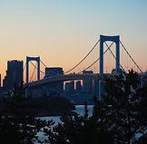 Ponte al tramonto