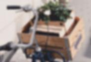 Caixa de cesta de bicicleta