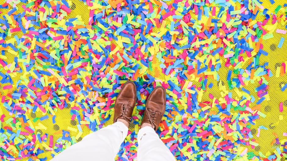 Confetti For Days   By: Gladi Colon