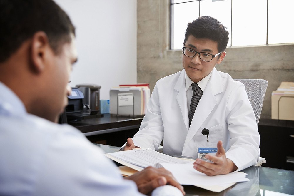 Symbolbild Arztdiagnose