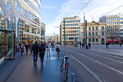 Schadow Square in Dusseldorf