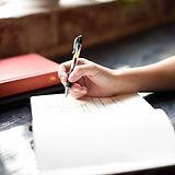 Escrevendo anotações