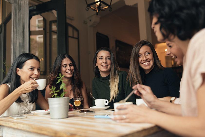 友達とコーヒー