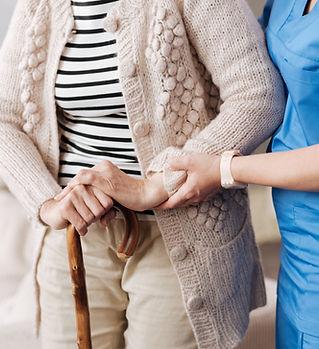 Pacjent i pielęgniarka