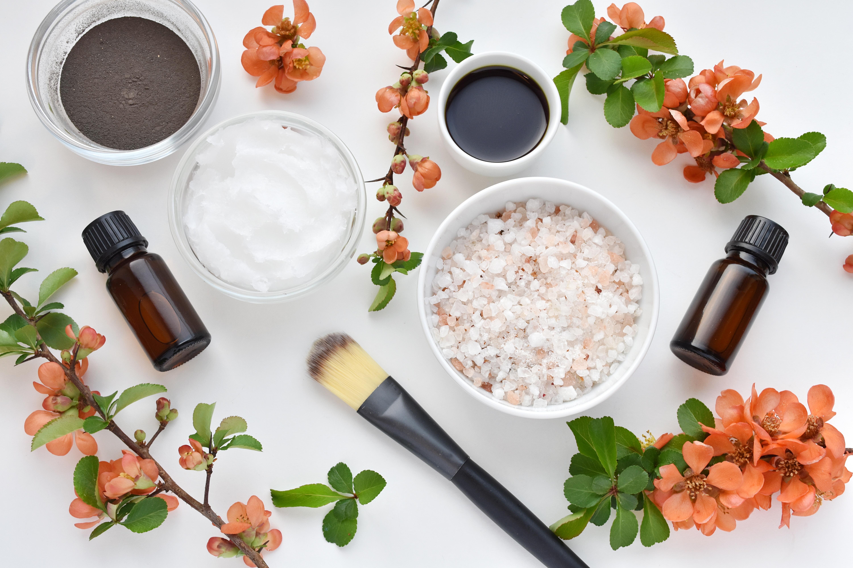 花の美容製品