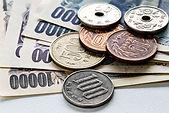 Billets et pièces en yen