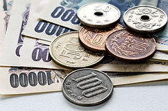 Yen Bills and Coins