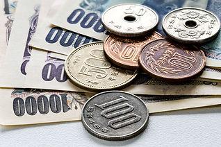 お札と小銭