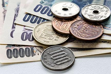 Yen-biljetten en -munten
