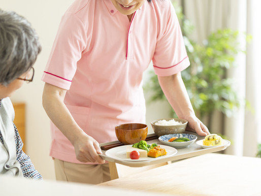 Caregiver's Guide:  Eating with Ease